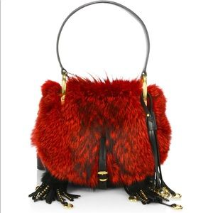 Prada Corsaire bag Red/black NEW